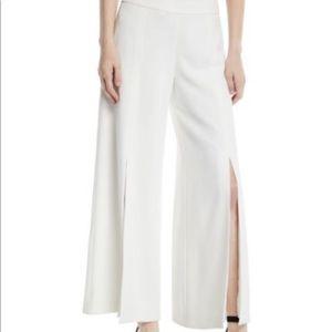 Trina Turk Davon Crepe Split Seam Pants Size 0
